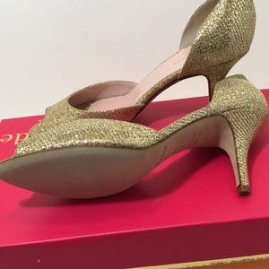 kate spade Shoes - Kate Spade Gold Starlight Special Occasion Shoes